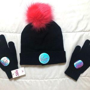 Winter Hat and Mittens for Kids